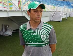 Alecrim Fernando Tonet técnico (Foto: Jocaff Souza/GloboEsporte.com)