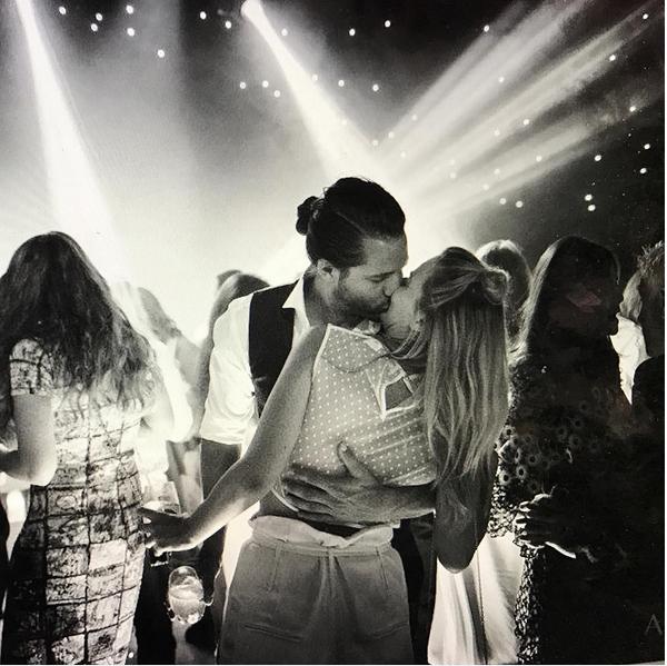 O casamento da atriz Margot Robbie (Foto: Instagram)