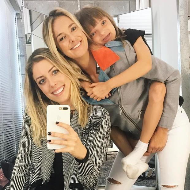 Ticiane Pinheiro, Fabiana Justus e Rafinha (Foto: Reprodução / Instagram)
