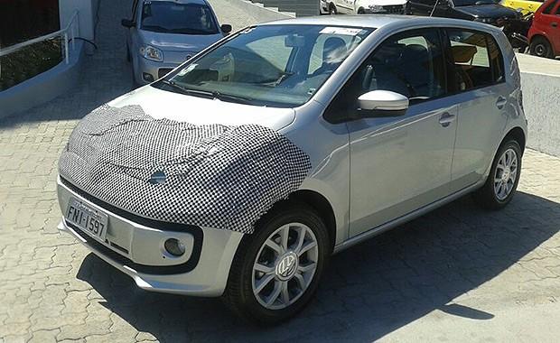 VW up! já participa de treino de concessionários em São Paulo (Foto: Leandro Alvares/Autoesporte)