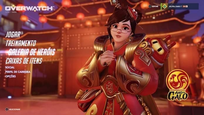 Overwatch: conheça as novas skins do Ano Novo Chinês e saiba como comprá-las no game (Foto: Reprodução/Murilo Molina)