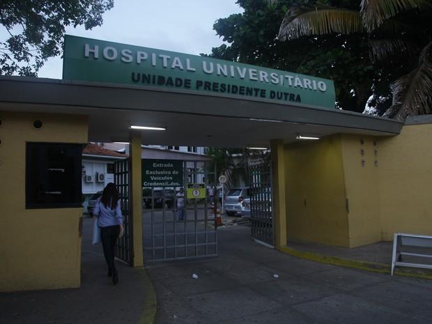 Hospital Universitário, no Centro de São Luís (Foto: Flora Dolores / O Estado)