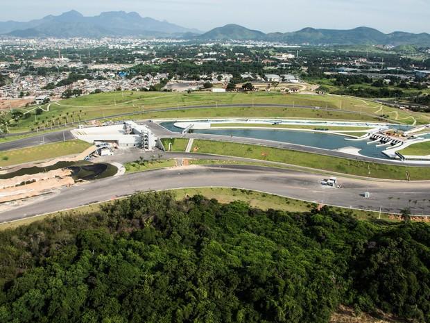 Circuito de Slalom em Deodoro está pronto para os Jogos 2016 (Foto: Divulgação/Ricardo Sette Camara/ Prefeitura do Rio)