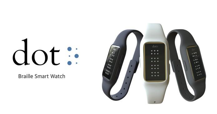 99eb4e2a909 Relógio inteligente para deficientes visuais terá display em Braille ...