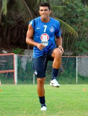 jeferson, meia do bahia (Foto: Eric Luis Carvalho)