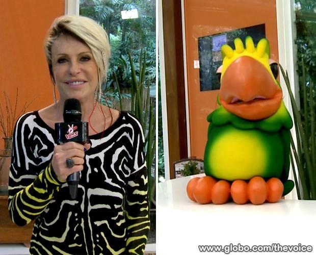 Ana Maria Braga e Louro José 620x500 (Foto: Reprodução/TV Globo)