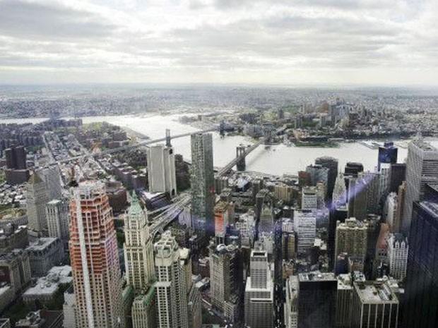 Coração do mercado financeiro americano, Nova York é o lar de grandes fortunas  (Foto: AP)