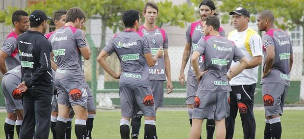 Figueirense, treino em 2012 (Foto: Luiz Henrique, divulgação / FFC)