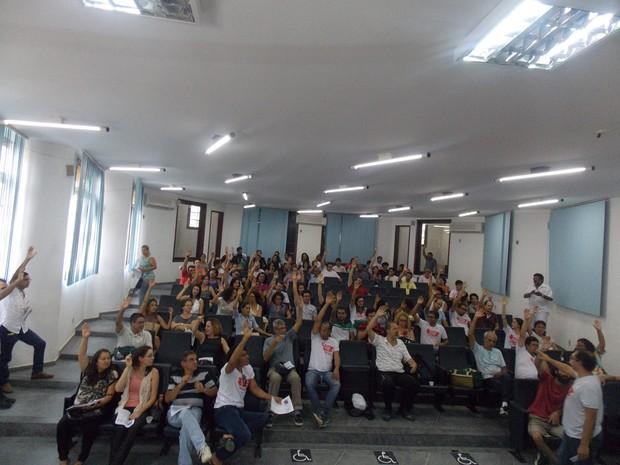 Greve na UFRB (Foto: Divulgação)