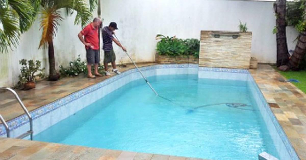 G1 limpeza de piscinas pode evitar o desabastecimento de for Piscinas norte