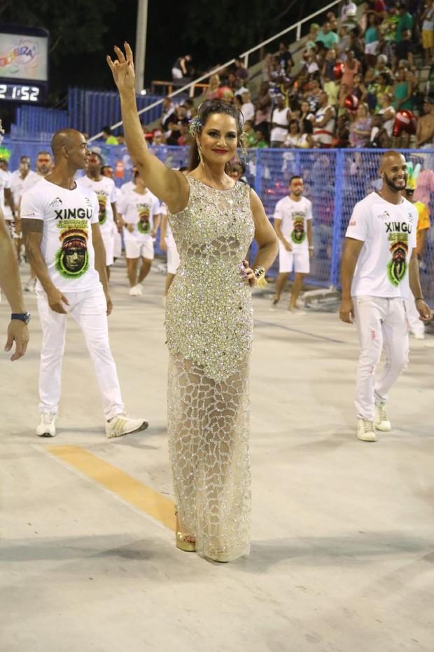 Luiza Brunet (Foto: Daniel Pinheiro/AgNews)
