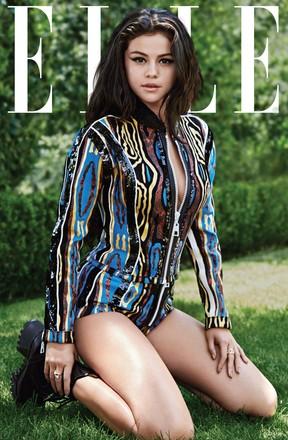 Selena Gomez (Foto: Reprodução/ Elle / Liz Collis)