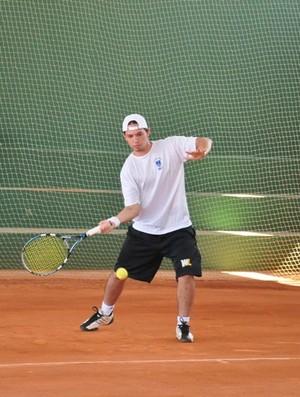Jandir Júnior, acreano na final do tênis nos Jogos Regionais do Sesi (Foto: Divulgação/Assessoria Fieac)