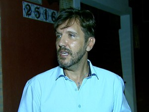 O delegado Gilberto de Aquino, em São Carlos (Foto: Paulo Chiari/ EPTV)