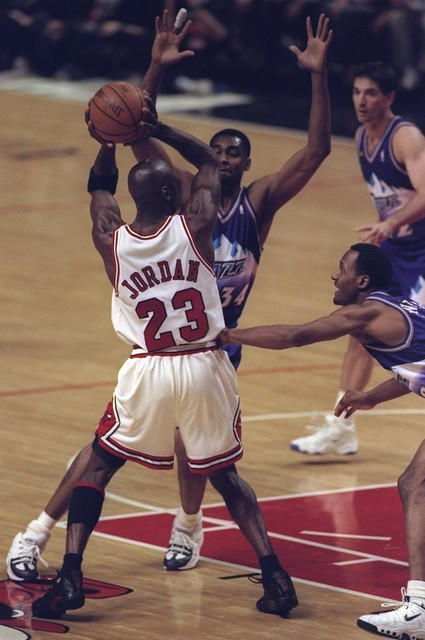 Chicago Bulls x Utah Jazz - NBA Finals 1998 (Foto: Jonathan Daniel/Getty Images)