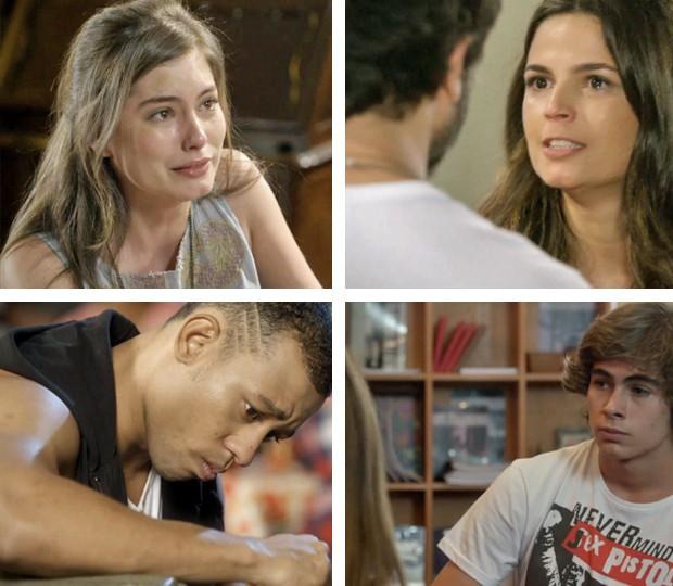 Todas essas mancadas vão lhe ensinar a não decepcionar o seu amor (Foto: TV Globo)