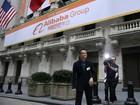 Ação do Alibaba chega a subir mais de 40% na estreia em NY