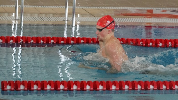 Adam Peaty, nadador da Grã-Bretanha (Foto: Rafael Araújo)