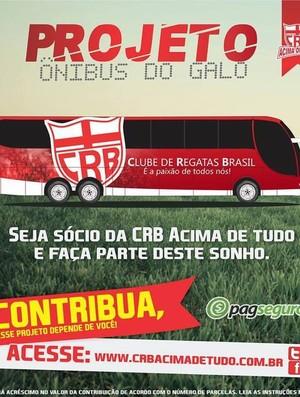 Campanha  é considerada um sonho, mas, para torcedores, não é impossível (Foto: Reprodução/ CRB Acima de Tudo)