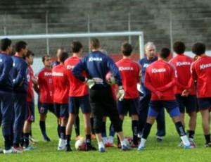 Paraná treino (Foto: Divulgação/Paraná Clube)