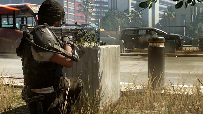 Modo Capture the Flag volta em Call of Duty: Adavanced Warfare. (Foto: Divulgação)