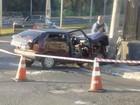 Motorista bate em carro e mulher morre (Jean Rocha/Arquivo Pessoal)