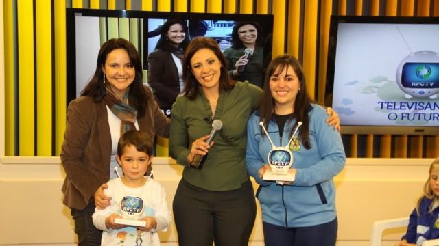 Premiação Televisando 2012 em Ponta Grossa (Foto: Divulgação / RPC TV)