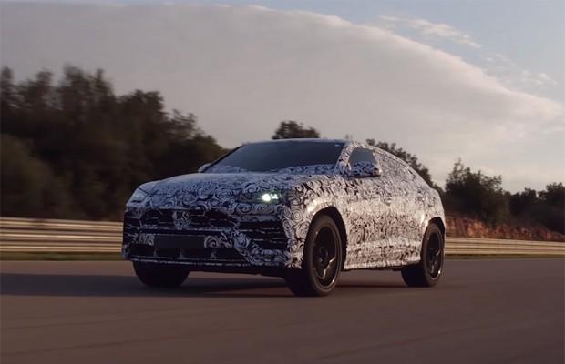 Sonoridade do Lamborghini Urus é revelada em arrancada (Foto: Divulgação)