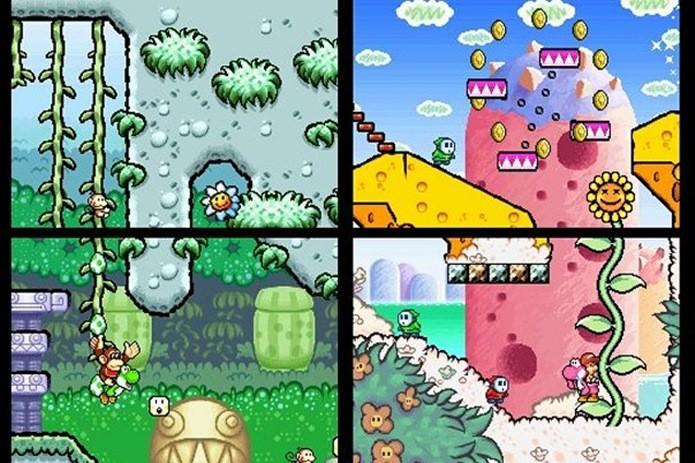 Yoshi Island ainda renderia a sequência para Nintendo DS, mas sem o logo Super Mario World (Foto: Reprodução / Games Radar(