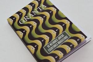"""O livro """"Os melhores jovens escritores brasileiros"""", lançado pela 'Granta' na Flip (Foto: Flavio Moraes/G1)"""