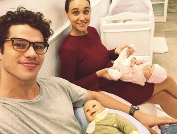 José Loreeto e Débora Nascimento (Foto: Reprodução / Instagram)