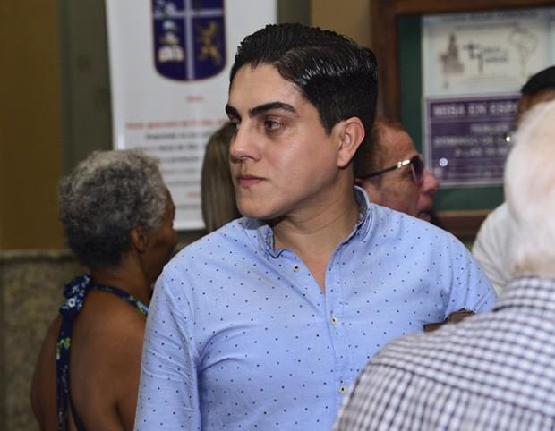 Alexandro Haddad, assessor e amigo de Rogéria (Foto: Leo Franco/AgNews)