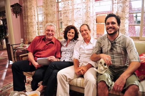 Elenco de 'A grande família' (Foto: João Miguel Júnior/TV Globo)