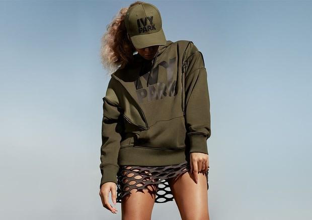 Beyoncé posa para Ivy Park em ensaio pré-gravidez (Foto: Reprodução)