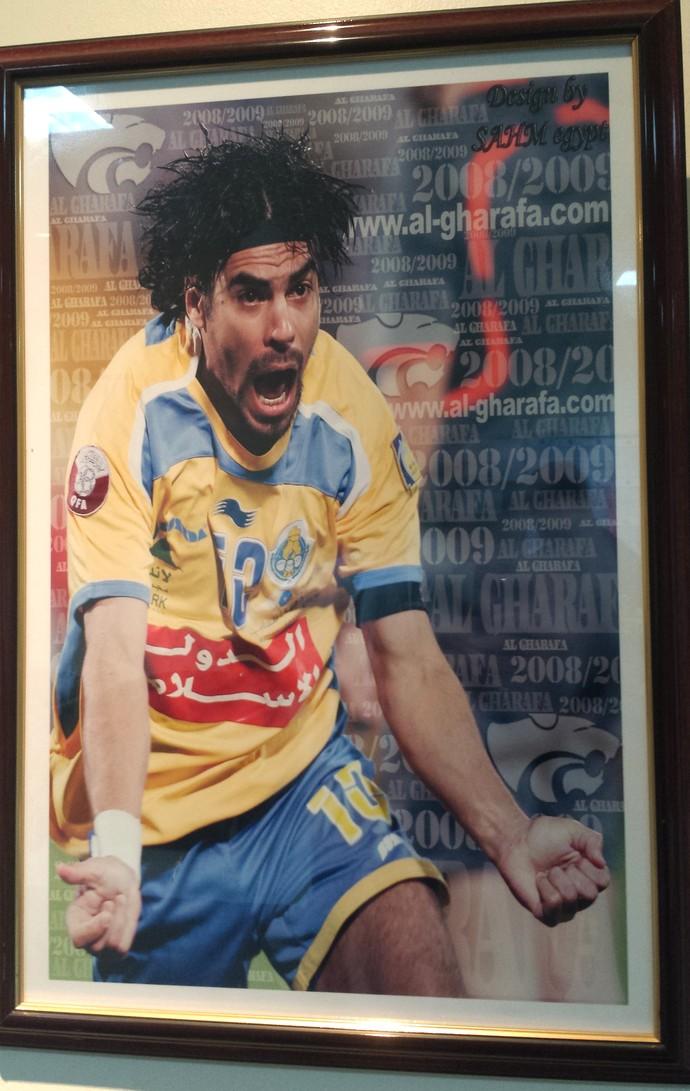 Araujo Al Gharafa (Foto: Reprodução)