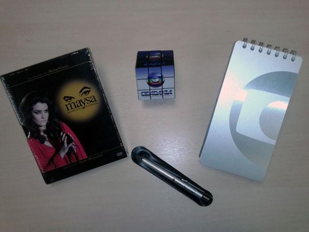 Concorra a um kit com caneta, bloco, DVD e cubo mágico do Globo Cidadania (Foto: Divulgação)