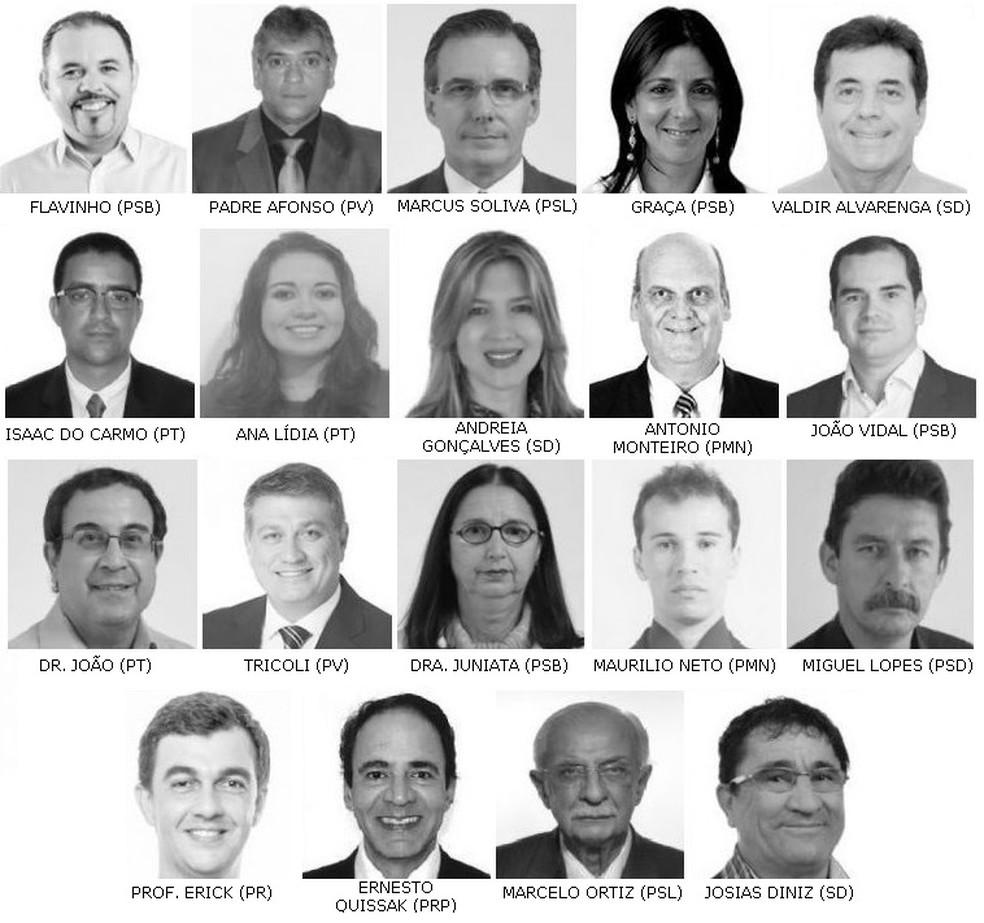 Candidatos foram apontados na lista do delator da JBS (Foto: Reprodução/TSE)