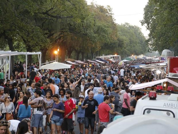 A 6ª Edição do Gastro Beer Rio acontece neste final de semana na Quinta da Boa Vista (Foto: Divulgação/AAspota/Movimento in Foco)