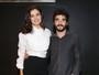 Sophie Charlotte e Caio Blat participam de pré-estreia de filme