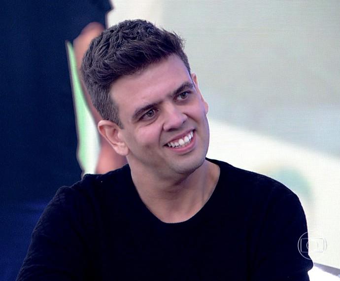 Arandir disse que teve que emagrecer para viver uma vida normal (Foto: TV Globo)