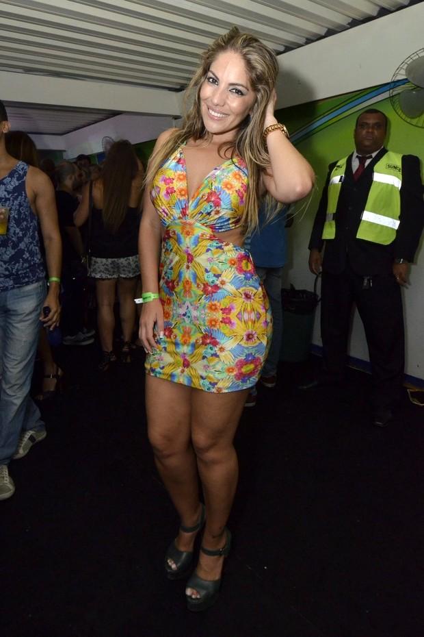 Anamara no 'Baile da Favorita' (Foto: Felipe Assumpção e Léo Marinho/ Ag, News)