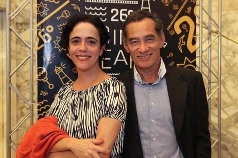 Silvia Buarque e Chico Diaz (Foto: Rogério Rezende)
