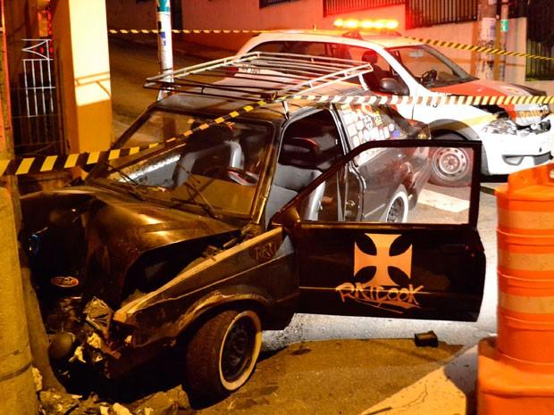 Carro usado por sobrinho suspeito de matar tia (Foto: EDU SILVA/FUTURA PRESS/ESTADÃO CONTEÚDO)