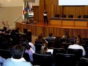 Reunião realizada nesta quinta-feira (Foto: Reprodução/TV Integração)