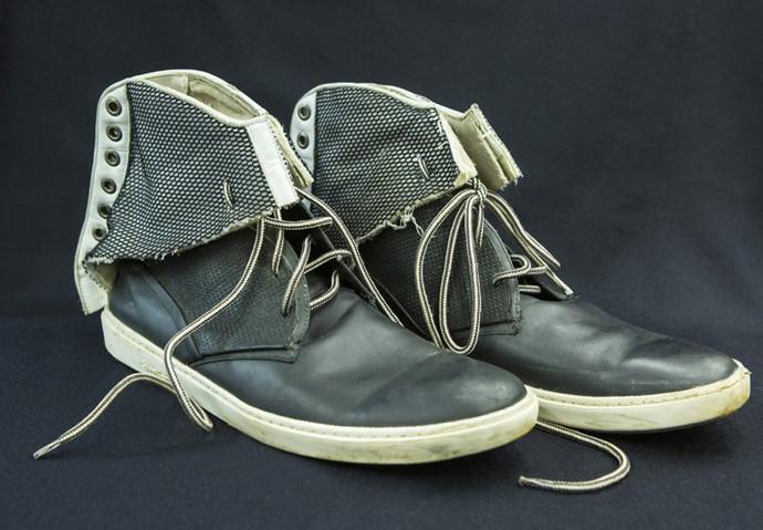Calçados são inspirados no termo 'upcycling'  (Foto: Felipe Monteiro/ Gshow)