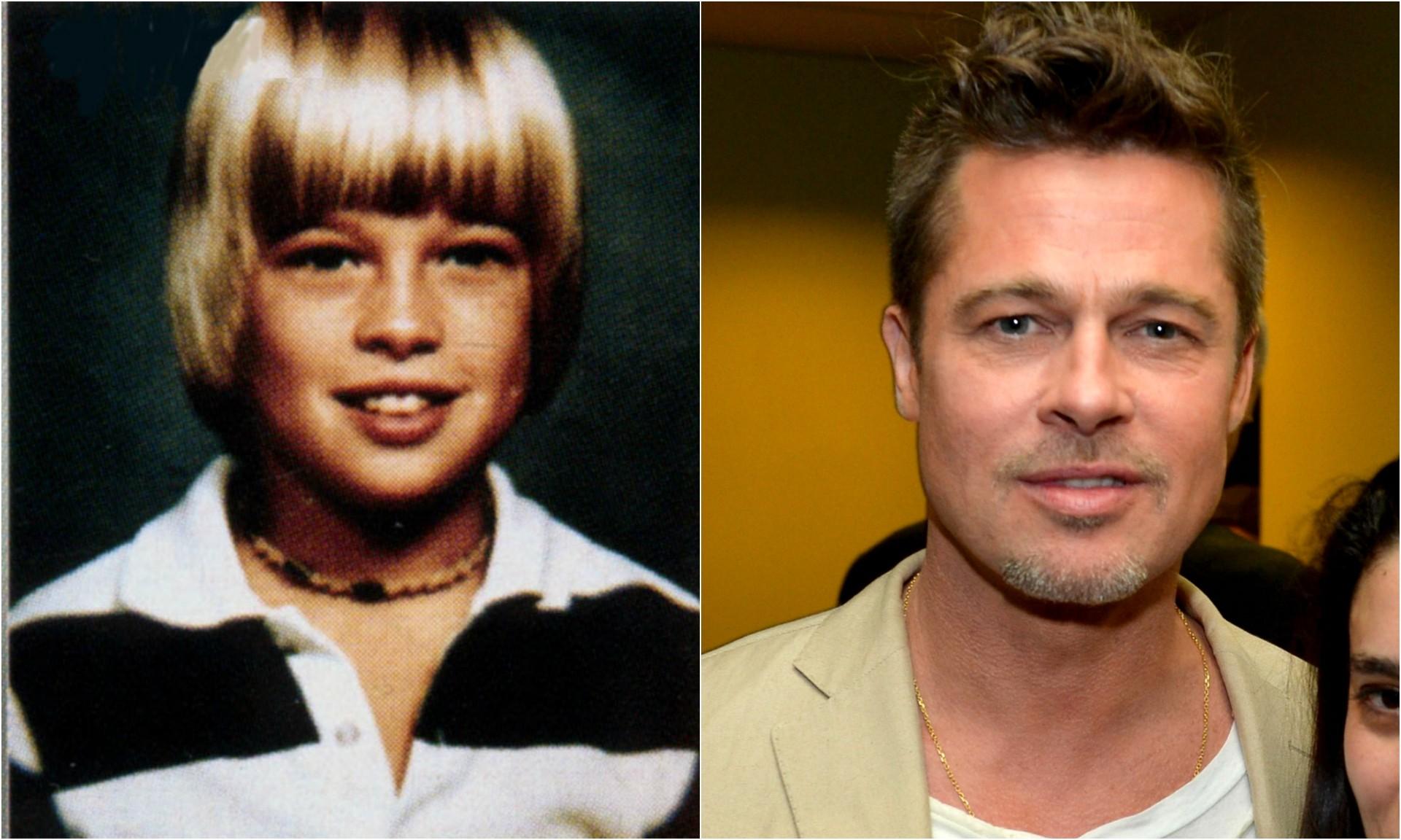 Brad Pitt. (Foto: Reprodução e Getty Images)