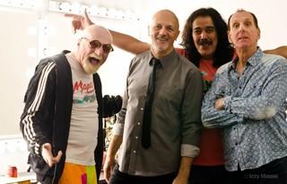 Os 'meninos' da banda Magazine atualmente (Foto: Divulgação)