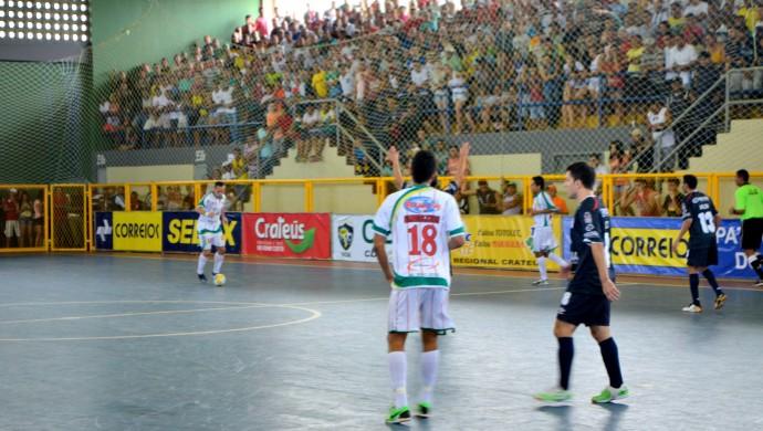 Torcida do Crateús na Taça Brasil de Futsal  (Foto: Otonny Stayler/CBFS )