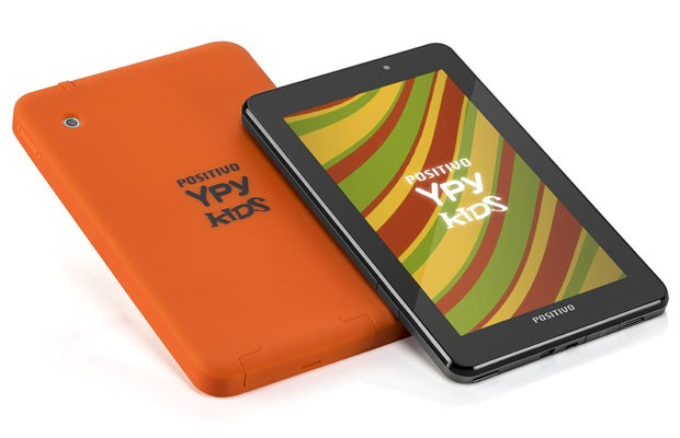Ypy Kids tem tela de 7 polegadas e conta com capa emborrachada (Foto: Divulgação)