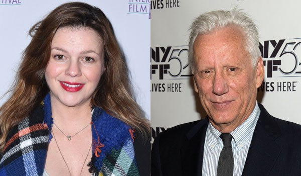 Amber Tamblyn e James Woods (Foto: Getty Images)